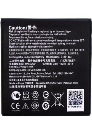 Аккумулятор Asus C11P1403 Asus Zenfone 4 A450CG 1750 mAh