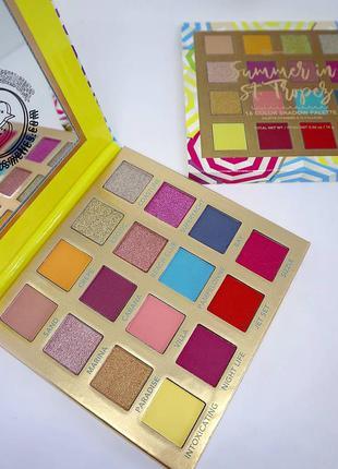 Тіні bh cosmetics summer in st.tropez