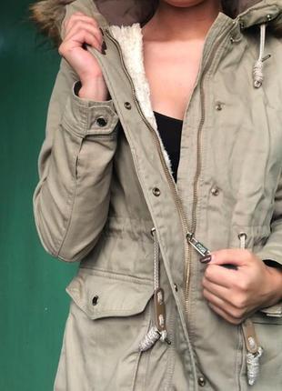 Куртка/парка bershka 💗💙💖premium collection💖💙💗
