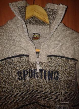 Зимний свитер на мальчика