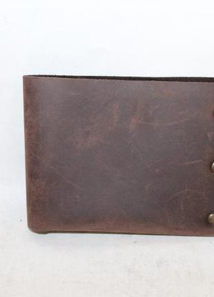 Кожаный кошелек портмоне turtle 100% натуральная кожа