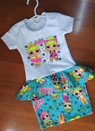 Детское кстильное летнее платье