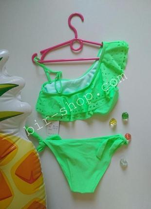 Яркий раздельный купальник  для девочки