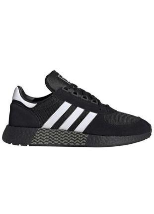 Кроссовки мужские adidas marathon чорні / кросівки чоловічі ад...