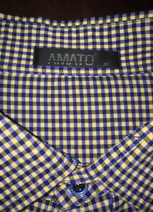 Рубашка с коротким рукавом под резинку