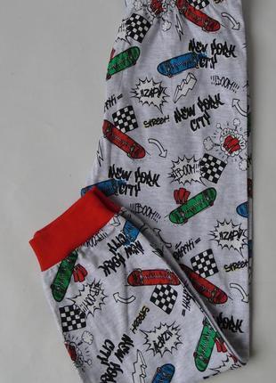 Пижама низ штаны 2-3 года 98 см, 5-6 л, 116 см primark англия
