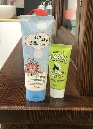 Набор для ухода за кожей. маска ночная. корейская косметика