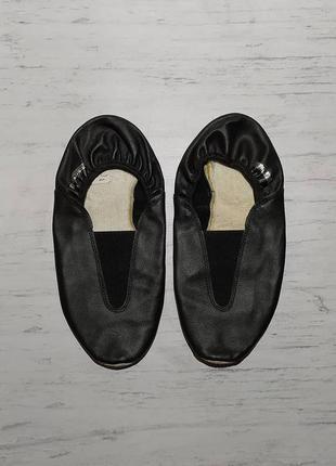 Reddy original кожаные чешки балетки лодочки туфли для танцев