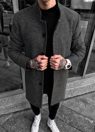 Мужское пальто мужская одежда осень весна