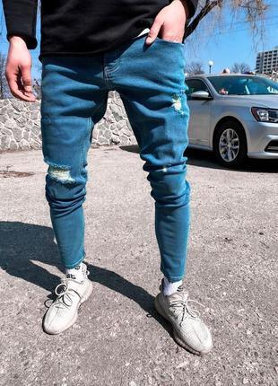 Мужские джинсы мужская одежда осень весна