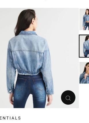 Куртка, джинсовка, джинсовая куртка, укороченная куртка, куртк...