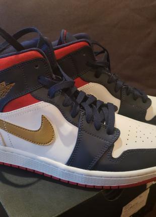 Оригинал! Продам Кроссовки Nike Jordan 1 Mid SE USA 852542-102