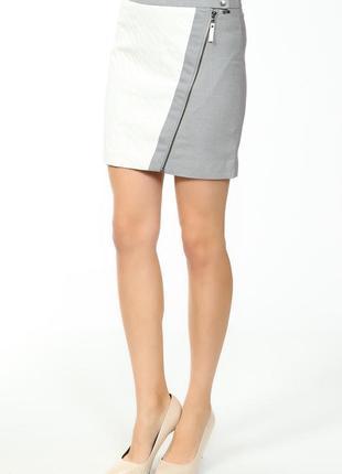 Новая юбка с косой молнией