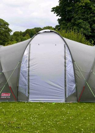 Палатка Coleman Ridgeline 4+ • Рыбалка, отдых, кемпинг, туризм