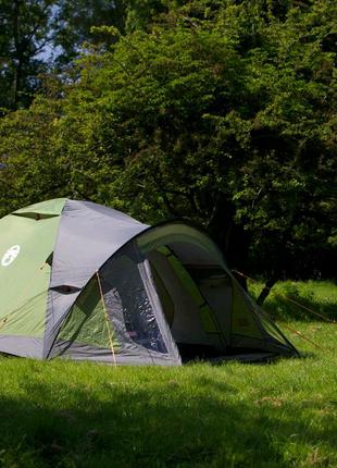 Палатка Coleman Darwin 4+ • Рыбалка, отдых, туризм, кемпинг