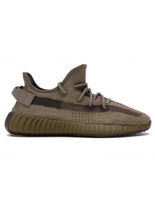 Кроссовки мужские adidas yeezy boost 350 v2 коричневые / кросі...