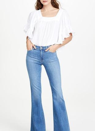 Расклешенные длинные джинсы ltb с широким нижним краем, джинсы...