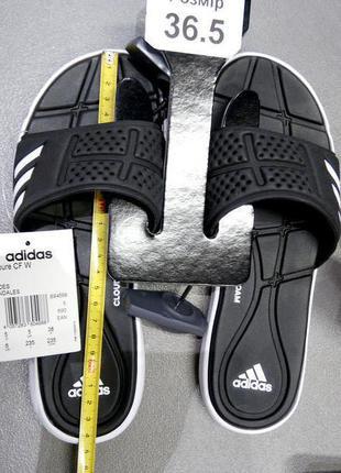 ОРИГИНАЛ Adidas Сланцы шлепки женские р.36,5