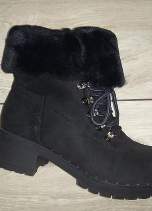 Зимние женские ботинки зима сапоги жіночі полуботинки