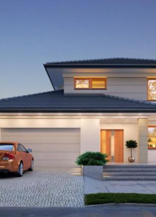 Проект «дома под ключ» 250 грн/м2 (АР, КР, ОВ, ВК)