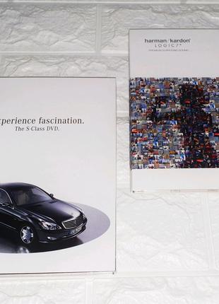Новые и оригинальные CD, DVD-диски из набора Mercedes-Benz W221