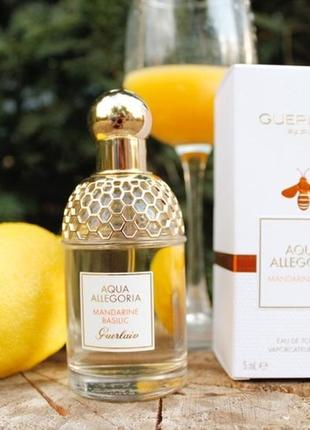 Guerlain Aqua Allegoria Mandarine Basilic_original  5 мл_затест