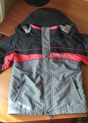 Утепленная демисезонная куртка o'neill. оригинал. америка
