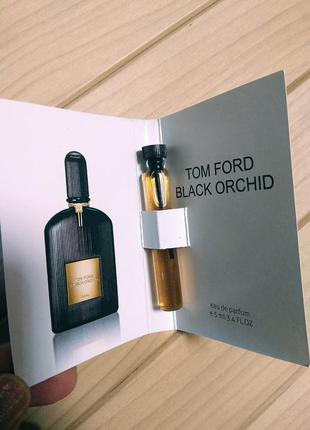 Духи парфюм пробник black orchid от tom ford ☕ объём 5мл