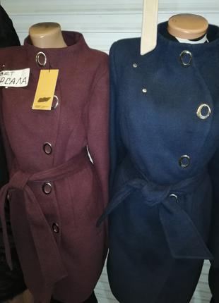 Кашемировый пальто 46,48,р демисезонные