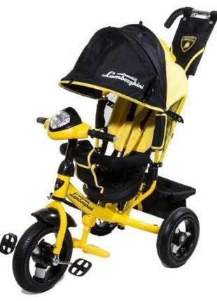 Детский 3-колёсный велосипед Lamborghini