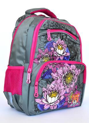 Качественный школьный рюкзак с ортопедической спинкой