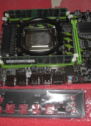 S2011 16 потоков Xeon E5-4650 новая плата с 4 слота память 4-64ГБ