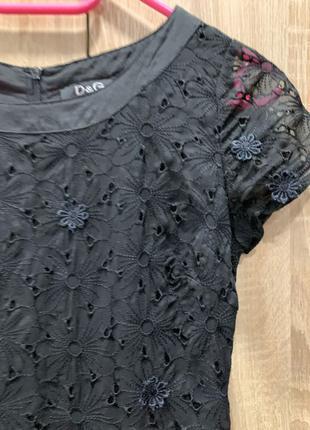 Кружевное платье D&G Dolce Gabbana