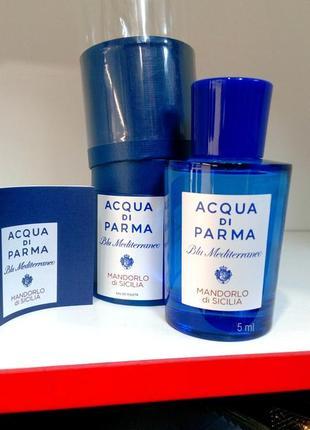 Acqua di Parma Mandorlo di Sicilia_Оригинал EDT_5 мл затест