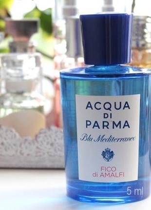 Acqua di Parma Fico di Amalfi_Оригинал EDT_5 мл затест_Распив