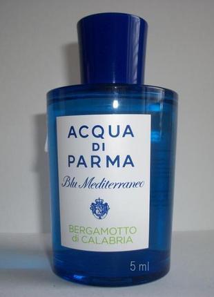 Acqua di Parma Bergamotto di Calabria_Оригинал EDT_5 мл затест