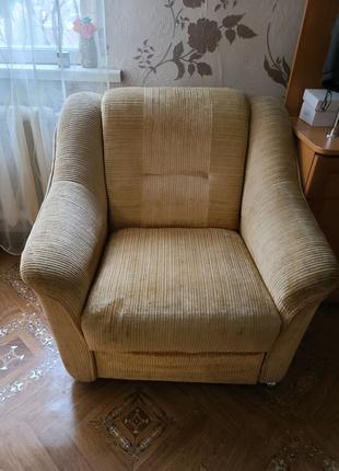 Кресло очень мягкое в отличном состоянии