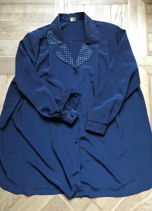 Нарядная женская блузка очень большого размера Ewax, Польша, р.66