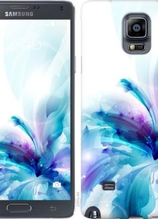 Чехол на Samsung Galaxy Note 4 N910H цветок (2265u-64-25393)