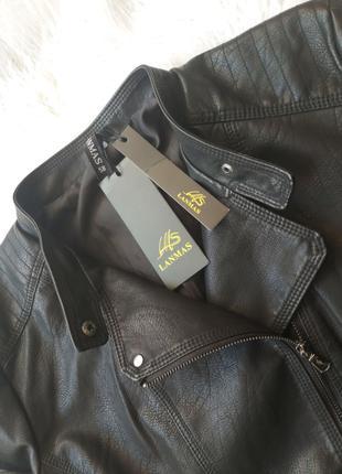 Куртка косуха женская кожаная новая 56-58