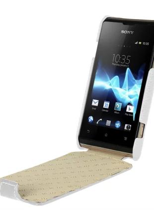 Чехол Vetti Craft Flip Sony Xperia E Dual / C1604 Normal S white