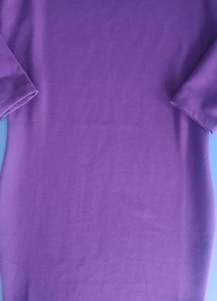 Платье фиолетовое sisley