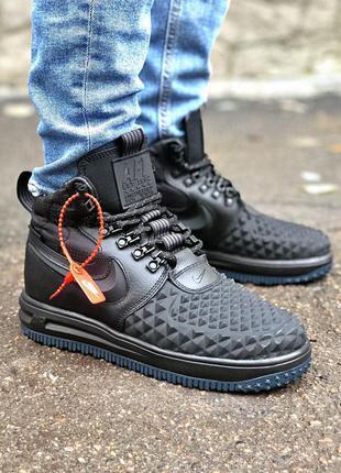 Кроссовки мужские nike sf air force 1 high черные / кросівки...