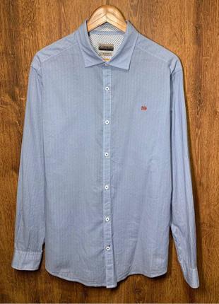 NAPAPIJRI size XL. Slim Fit. Рубашка/Сорочка