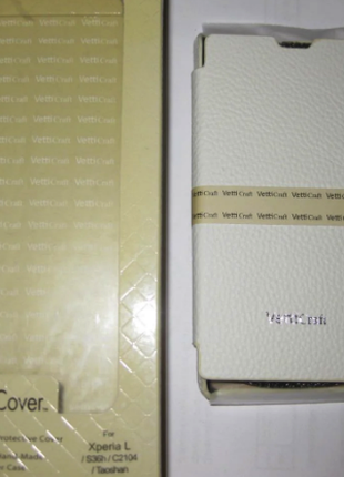 Чехол Vetti Craft Sony Xperia L / S36h Hori S white
