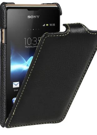 Чехол Vetti Craft Flip Sony Xperia E Dual / C1604 Normal S black