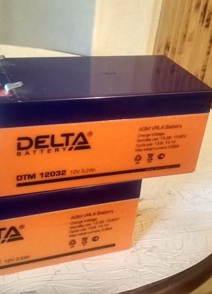Аккумуляторная батарея Delta DTM 12032 (12V / 3.2Ah)