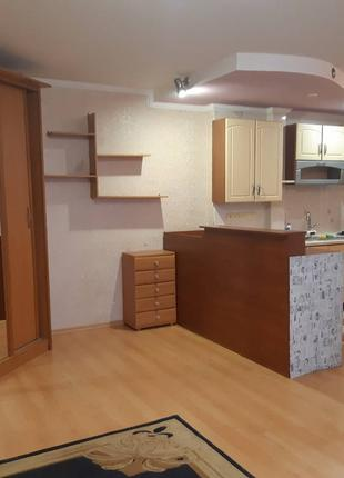 Однокомнатная квартира студийного типа