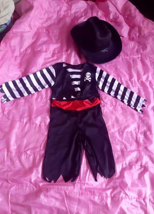 Продам карнавальный костюм пирата 3-4 года