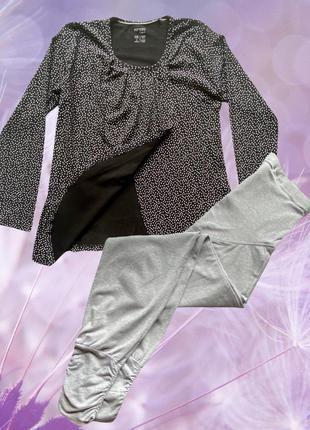 Домашний костюм, трикотажная пижама для. беременных esmara, s.